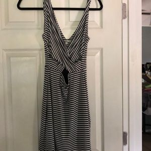 Charlotte Russe striped NWT dress.